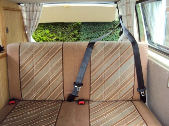 Camper Van Seat Belts | Seat Belt Services