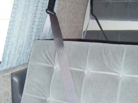Toyota Hiace safety seat belts