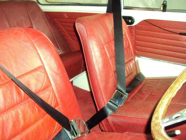 Classic Cars Seat Belts