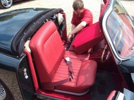 Seat belts repair