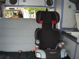 VW Campervan 3 point inertia seatbelts